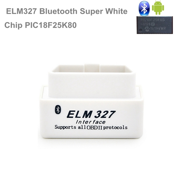 REAL PIC18F25K80 Chip Super OBD2 ELM327 WIFI V1.5 Hardware Works Android/iOS ELM 327 Bluetooth For Android Phone Works Diesel