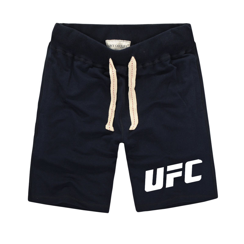 1 UFC MMA LIFE Fight Ultimate Fighting Championship Printed Shorts Men Fitness Clothing Pure Cotton Muay Thai Men's Shorts Train