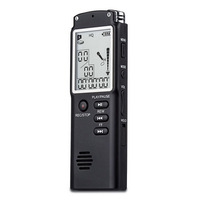 GIEFTU Professional 8GB Time Display Recording Digital Voice Audio Recorder Dictaphone MP3 Player