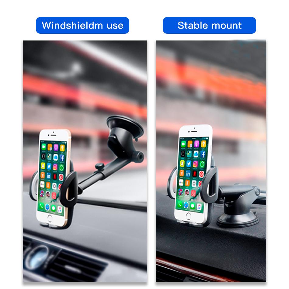!ACCEZZ Car Phone Holder For iphone X 8 7 XR XS MAX Huawei Samsung Xiaomi Universal Car Gravity Sucker Smart Phone Stand Bracket (2)