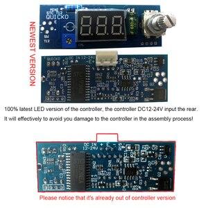 Image 3 - وحدة كهربائية LED سبيكة لحام الرقمية محطة متحكم في درجة الحرارة أطقم بها بنفسك استخدام ل هاكو T12 مقبض الاهتزاز التبديل نصائح