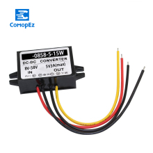 цена на 8-58V to 5V 3A 2A 1A Dc Converter 12V 24V 36V 48V to 5V DC Buck Step Down Module Voltage Converters for Led Light