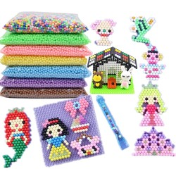 34 Colors 500 pcs 5mm Selling DIY 3d Puzzles Toy Set Hama Beads Perler Beads Ball New Year Gift Aqua Perlen Learn Kids Toys