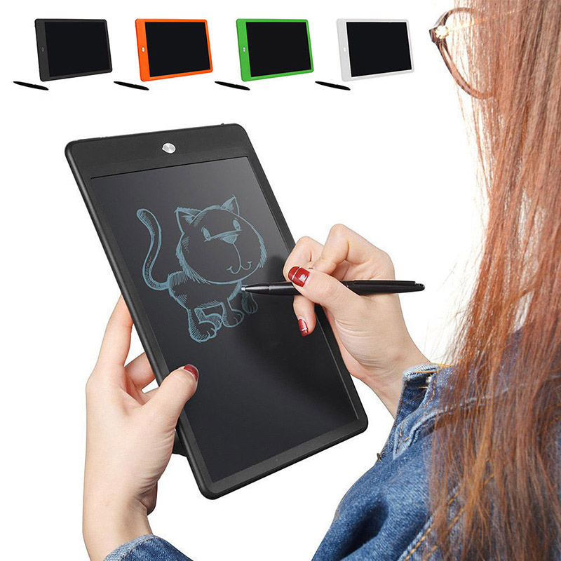 10inch Writing Tablet Board Paperless LCD Handwriting Pad Kids with Pen for Office Famil ...