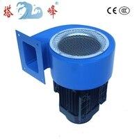 1/2 HP güç endüstriyel fırın santrifüj fanlar kaynaklı taslak fan
