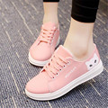 2017 New Fashion Flats Women Trainers Breathable Sport Woman Canvas Shoes Casual Outdoor Walking Women Flats Zapatillas Mujer
