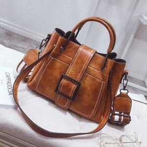 Image 1 - Luxus Handtaschen für Frauen PU Leder Schulter Tasche Weiblichen Umhängetaschen Für Frauen Messenger Taschen Casual Tote Damen Hand Tasche sac