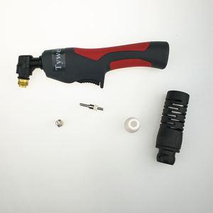 Image 5 - 200pcs פלזמה חיתוך לפיד מתכלים חיתוך מורחב ארוך פלזמה קאטר ערכת 40A PT31 פלזמה לפיד טיפ אלקטרודה זרבובית