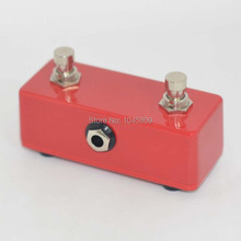 NEW GUITAR Moment Foot Switch DUAL 2 CHANNEL Red FOOTSWITCH AMPLIFIER
