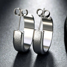 Silver Gold-Color Earrings
