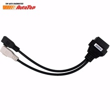 for VAG Adapter Cable for Audi 2P * 2P OBD OBD 2 Car Diagnostic Cable to 16Pin Cable OBDII Diagnostic Connector for AUDI a3 a4