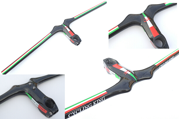 free shipping 2015 new cycling king c k ltaly flat handlebar with stem mountain bike parts accessories