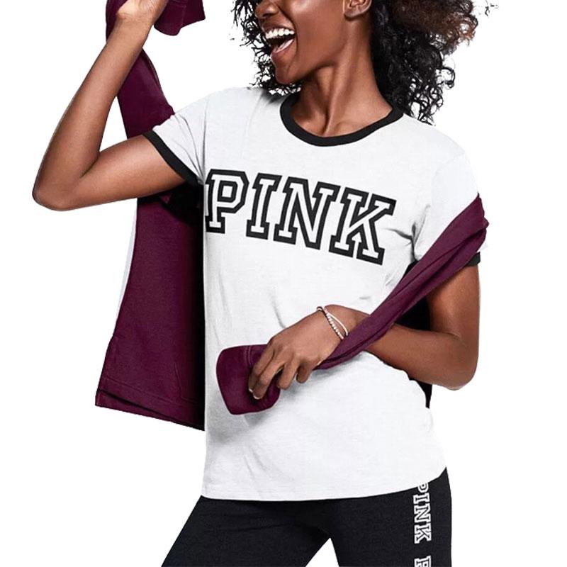 VS Love Pink Women T Shirt Ulzzang Tumblr Feminist Vegan Kyliejenner Fashion Kendall Jenner Girl Power Gang vegan bt21 Tee Top