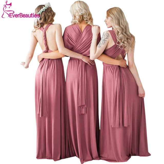 232ec82683 Chiffon Bridesmaid Dresses Long 2019 Robe Demoiselle D honneur Vestidos De  Fiesta De Noche Dress for Wedding Party