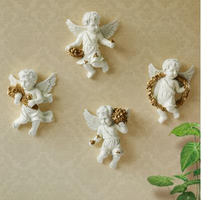 European-style resin wall Angel, wall decoration crafts, creative - Home Decor - Photo 2