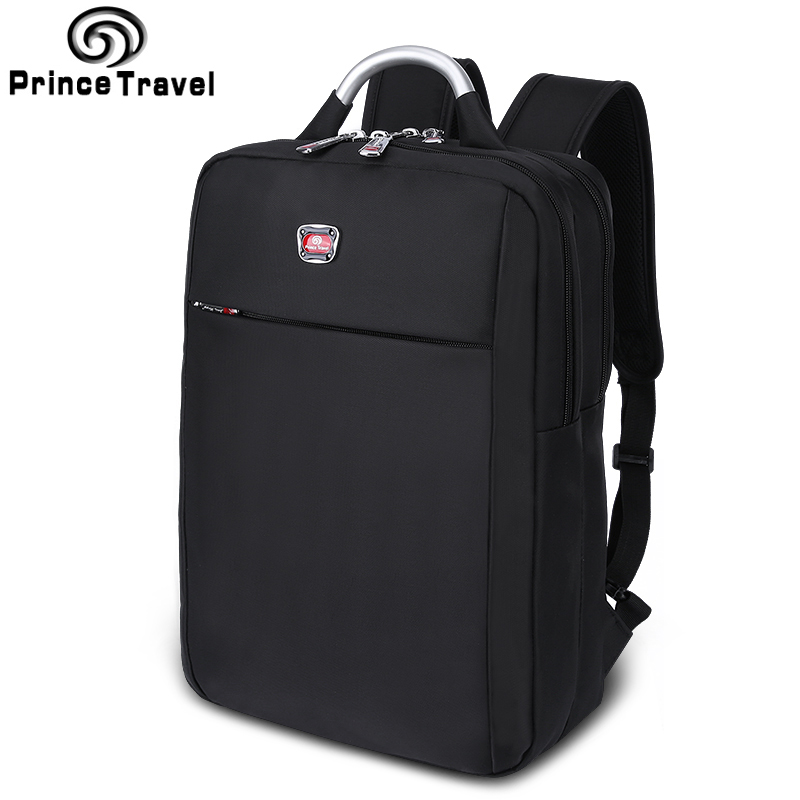 ФОТО Prince Travel Multifunction Backpack Men Backpack Laptop Bag For 15 16 Inch Laptop Durable Men Totes Good Quality School Bags