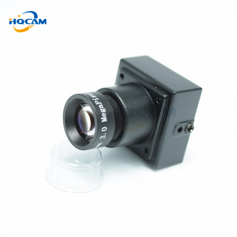 HQCAM Sony CCD 480TVL B/W Low Lux Mini Camera Mini Analog Camera Mini Bullet Square Surveillance Camera Mini Industrial Camera cndst cctv sony ccd black and white mini square camera low lux 22x22mm 480tvl 600tvl mini b w industrial camera 3 6mm board lens
