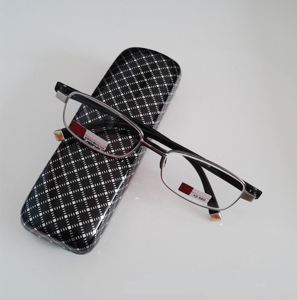 Leesbril Gafas De Lectura Full-rim Hd-glaslinser för män Kvinnor Läsglasögon +1,00 +1,50 +2,00 + 2,50 + 3,00 + 3,50 + 4,00