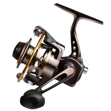 Full Metal Fishing Spinning Reel Max Drag 8-10LB Palm Mini Ice Fishing Reel Right/Left Pesca