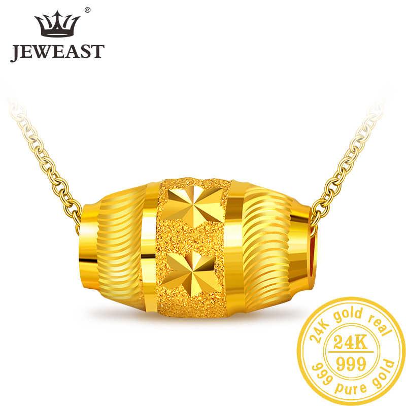 QA 24K Pure Gold จี้จริง AU 999 Solid Gold Charm Lucy ลูกปัดสวยอินเทรนด์คลาสสิก Party เครื่องประดับ Fine ร้อนขายใหม่ 2019