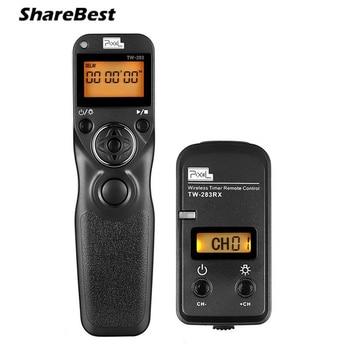 Pixel TW-283/E3 Беспроводной пульт дистанционного управления таймером спуска затвора Bluetooth для Canon 1200D 1100D 600D 550D 650D 760D 500D 700D 60D