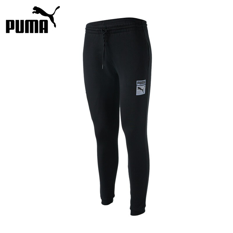 Original New Arrival 2017 PUMA Archive Graphic Logo Pants TR Men's Pants Sportswear original new arrival 2017 puma archive t7 track pants double knit men s pants sportswear