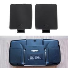 1 conjunto para sega gg sistema de mão, cobertura da porta do gamegear, gg r, esquerda e direita, bateria aa