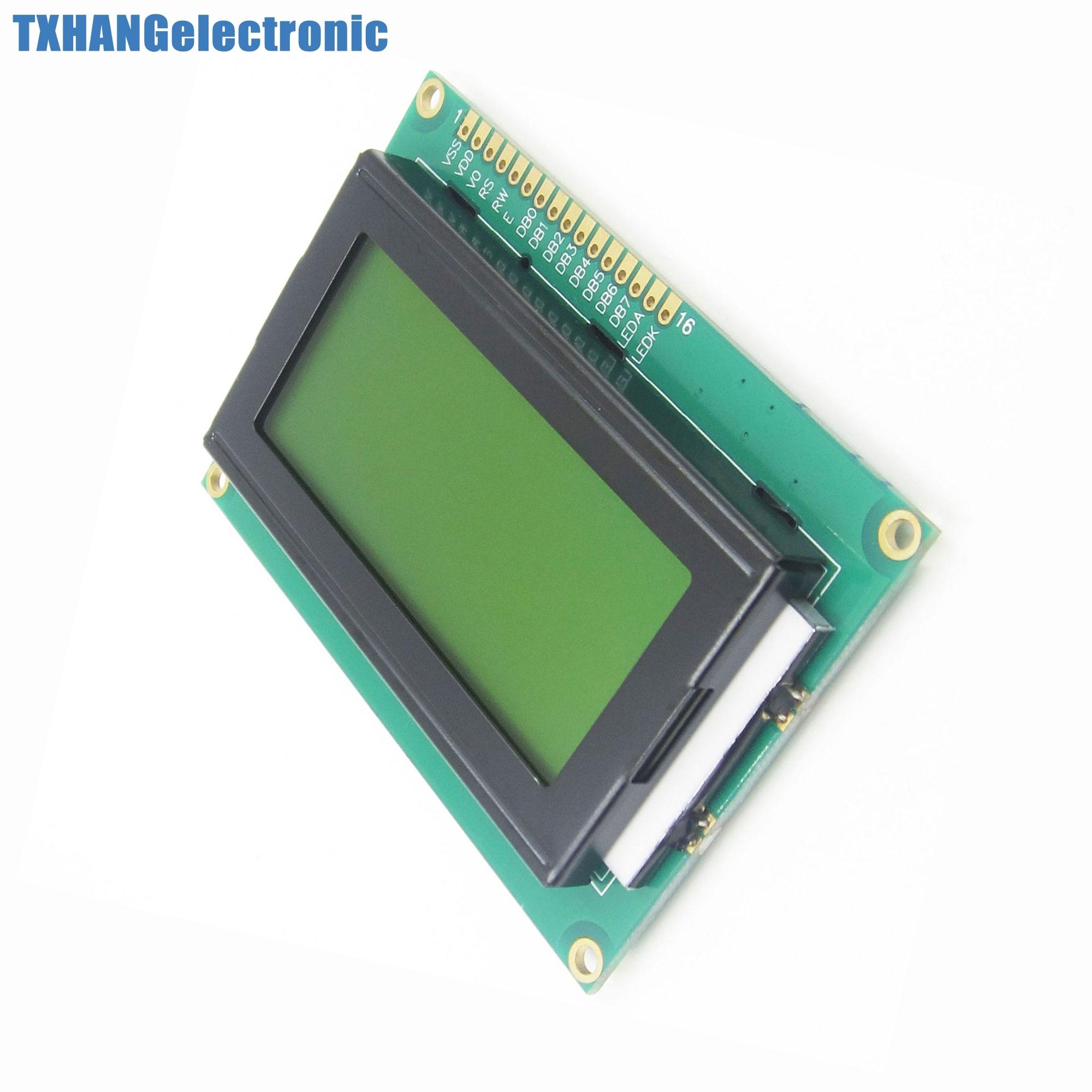 1pcs LCD1604 16x4 Character LCD Display Module LCM yellow Blacklight 5V