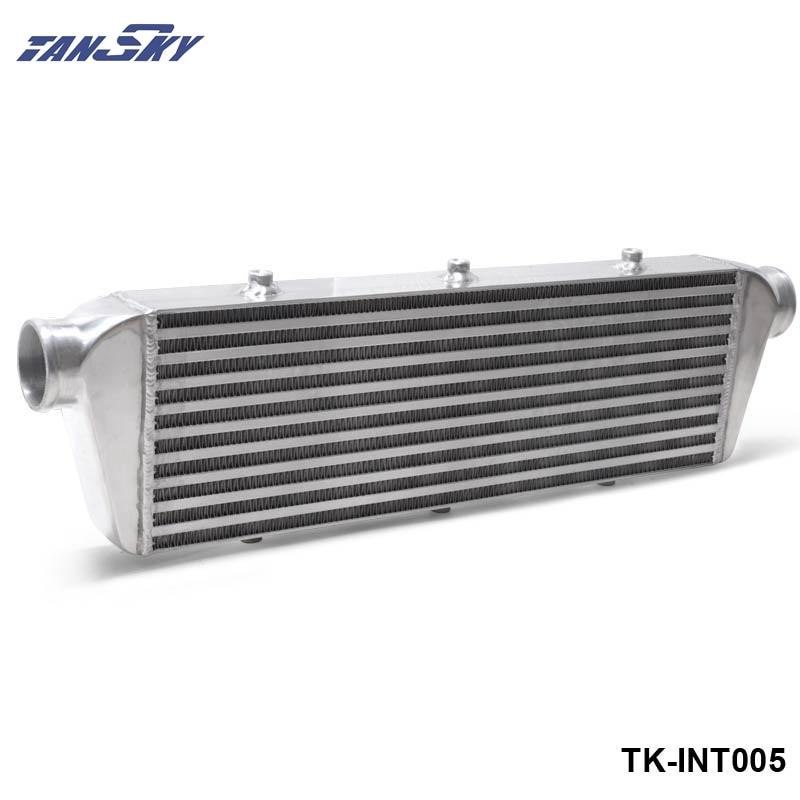 550x180x65mm 2.5''(63mm) I/O Turbo Inter Cooler Turbo Racing Front Mount BAR&PLATE Aluminum Intercooler TK-INT005 pivot 450x300x76 alloy turbo front mount intcooler bar