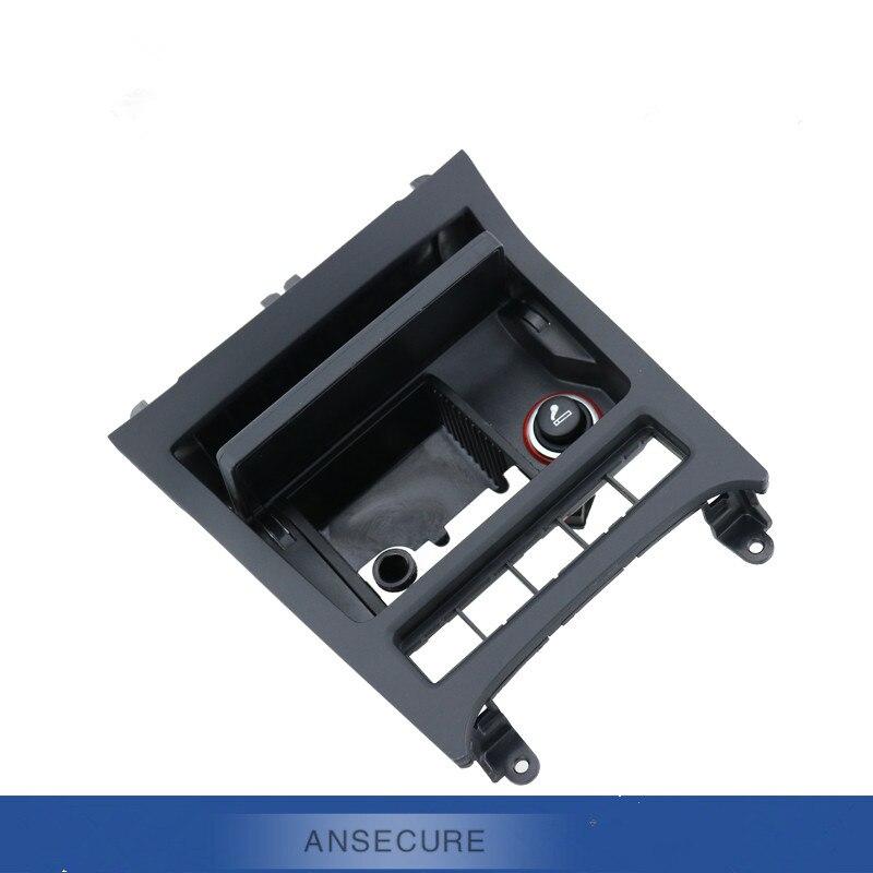 Cendrier avant noir de voiture 5 trous de bouton pour Volkswagen VW Golf 6 MK6 MK5 Jetta Scirocco EOS 5K0 857 961 5K0857961