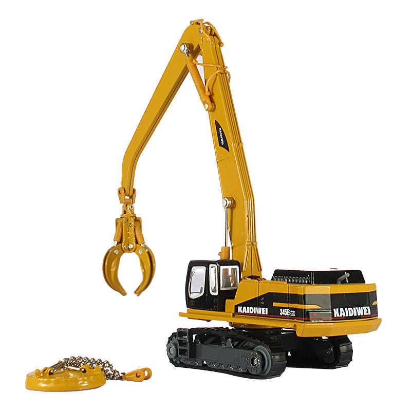 KAIDIWEI Paduan bahan rekayasa kendaraan penanganan kendaraan model boys & girls lengan Manipulator dapat memperpanjang mobil mobil mainan