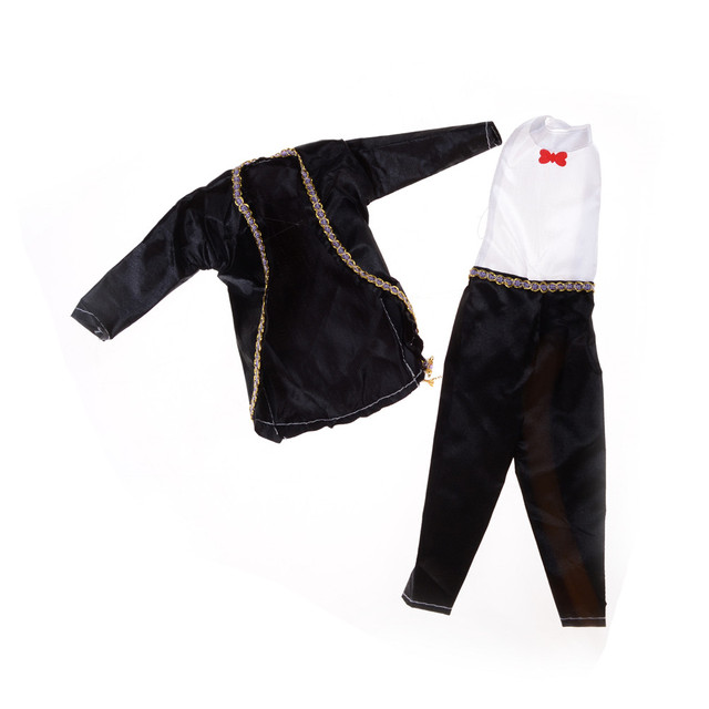 2018 High Quality Party Tux Clothes Pants Outfit For 11 Boyfriend Ken Doll Kids Birthday