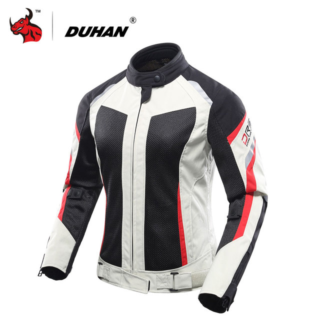 DUHAN Women Motorcycle Jacket Breathable Motorcycle Clothing Summer Women Moto Jacket And Motorcycle Pants Racing Clothes Suit 1