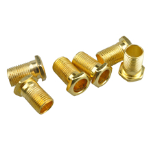 New 3 Pairs Sealed Guitar String Tuning Pegs Tuners Machine Heads 3L + 3R Gold