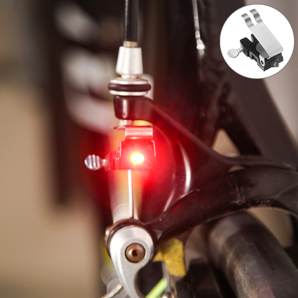6 Tahan Air Bersepeda Cocok Untuk Kepala Ekor Cahaya Lampu Senter Rockbros Hy Ld306 Bicycle Headlight Rechargeable 100 Lm Sepeda Beginagain Portabel Mini Rem Gunung Belakang Led Kecerahan Tinggi