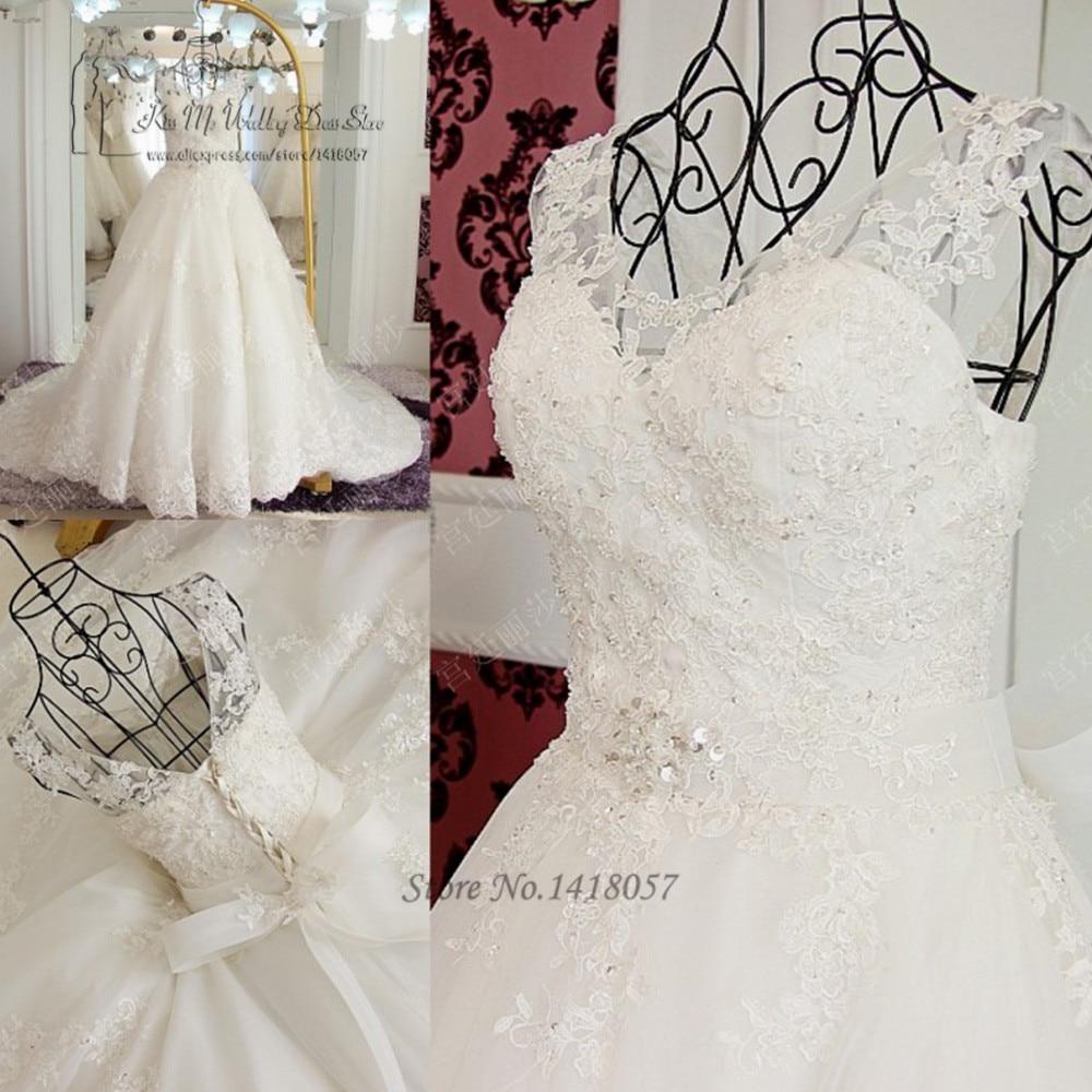 Vestido De Noiva Renda Vintage Lace Princess Wedding Dress: Vestido De Noiva De Renda Vintage Princess Wedding Dresses