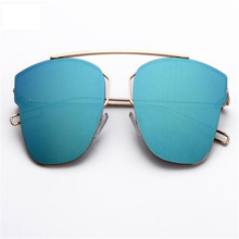 Sunglasses Metal Reflection Mirror Frame From Lens Sunglasses Glasses