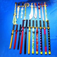 bamboo sword toys wooden