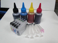 400ml dye ink + Refillable ink cartridge LC133 LC 133 MFC-J470DW MFC-J650DW MFC-J870DW MFC-J4410DW MFC-J4510DW