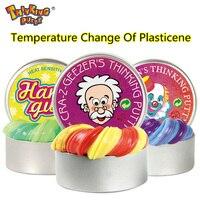 No Cambia de Color Cambio de Temperatura Magnética Goma Mano Fimo Arcilla Ultraligero Plastilina Barro Creativo Plastilina Barro Juguetes Para Los Niños