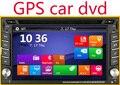 Capacitiva Carro DVD GPS de Navegação Rádio Estéreo Do Carro 2din GPS Do Carro Do Bluetooth USB/SD Universal Player