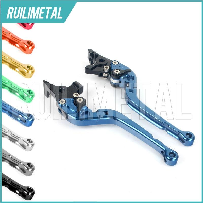 Adjustable Long Folding Clutch Brake Levers for TRIUMPH Scrambler Thruxton 900 09 10 11 12 13 14 15  Thruxton Steve McQueen SE 13 10 900