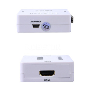Image 2 - Kebidu HDMI 오디오와 VGA 변환기 HDMI2VGA 1080P 어댑터 커넥터 PC 노트북에 HDTV 프로젝터 HDMI 2 VGA 변환기