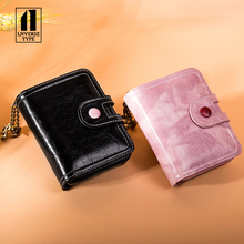 Stylish texture Wallet Short Women Wallets Buckle Purse Patchwork Fashion Panelled Wallets Trendy Coin Purse Card Holder Leather