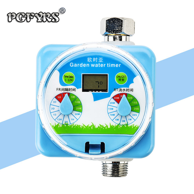 NEUE gartenarbeit garten bewässerung system Regenwasser induktion wasser system controller Automatische Blume Waterer Timing Wasser Ventil