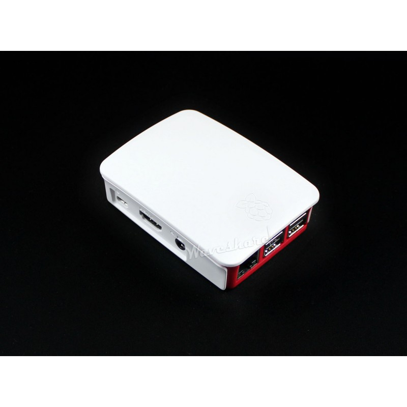 Подробнее о module Original Official Raspberry Pi 3 Model B Case Box ABS High Quality Red/white Color Enclosure Shell original black abs plastic case box enclosure for raspberry pi 3 model b screws