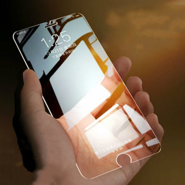 Protective glass film for iphone7plus 9H 2.5D tempered glass for iphone6 6s for iphone7 8 8Plus 6plus for iphoneX XR XSMAX XS