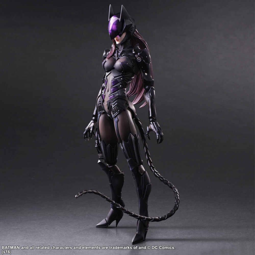 Chơi Nghệ Thuật 27 Cm Catwoman Hành Động Hình Đồ Chơi Mô Hình
