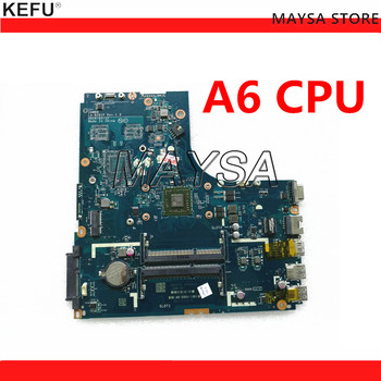 KEFU LA-B291P FOR LENOVO B50-45 laptop motherboard ZAWBB LA-B291P REV:1.0 A4 / A6 CPU mainboard NOTEBOOK PC
