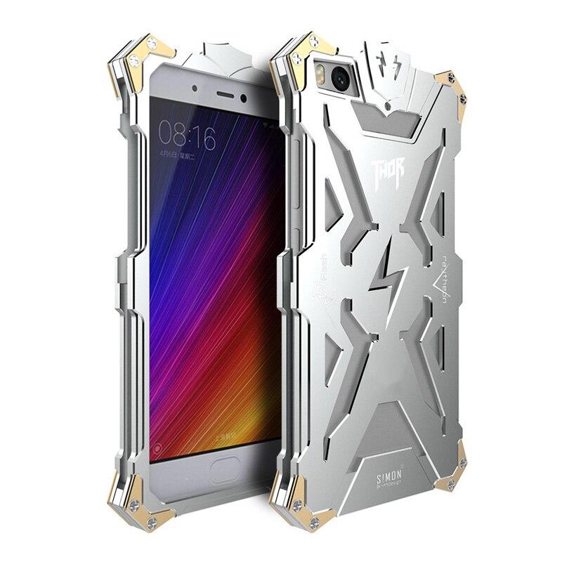 imágenes para Caja de aluminio Para Xiaomi Redmi Nota 4X2 3 4 A Prueba de Golpes lujo Thor MetalTough Armor Bumper Cubierta Del Caso Para Redmi Pro
